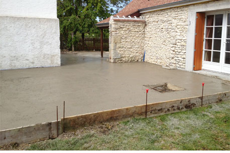 Nos r alisations consual ing nierie travaux - Refection terrasse beton ...